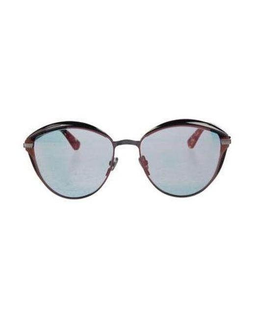bb8392944e3 Dior - Metallic Diormumure Mirror- Sunglasses Silver - Lyst ...