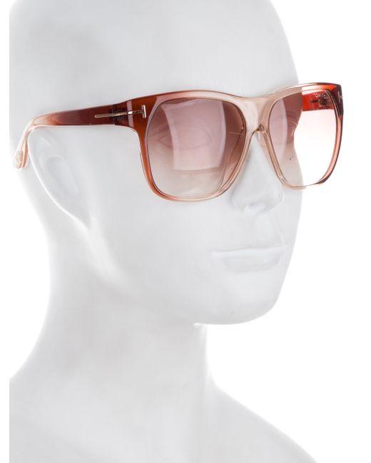 72f794017e ... Tom Ford - Purple Frederico Square Sunglasses - Lyst