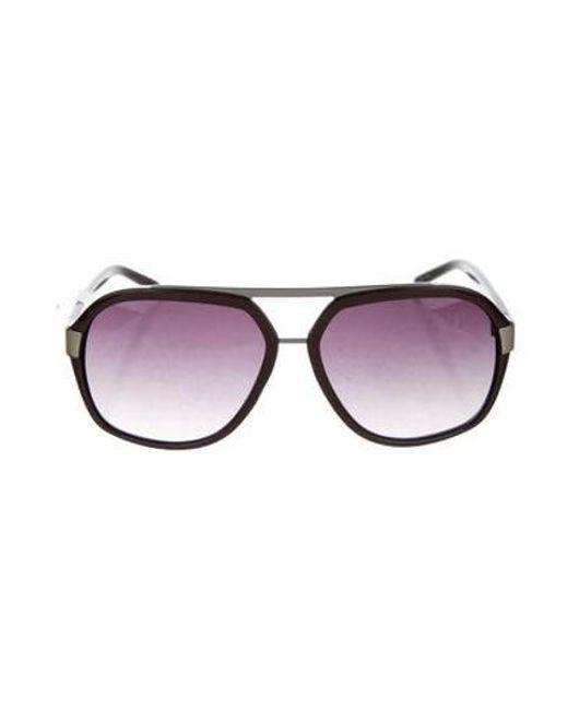 641acb803061 Just Cavalli - Purple Tinted Shield Sunglasses - Lyst ...