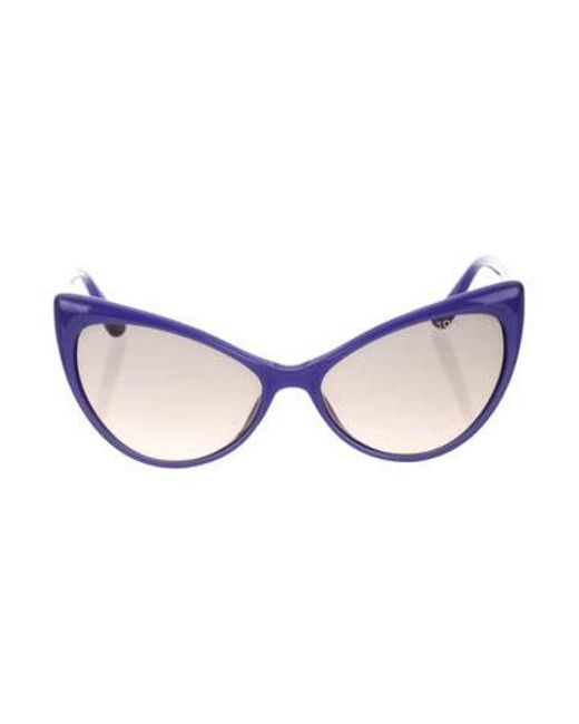 586ae76967bc3 Tom Ford - Purple Anastasia Cat-eye Sunglasses - Lyst ...