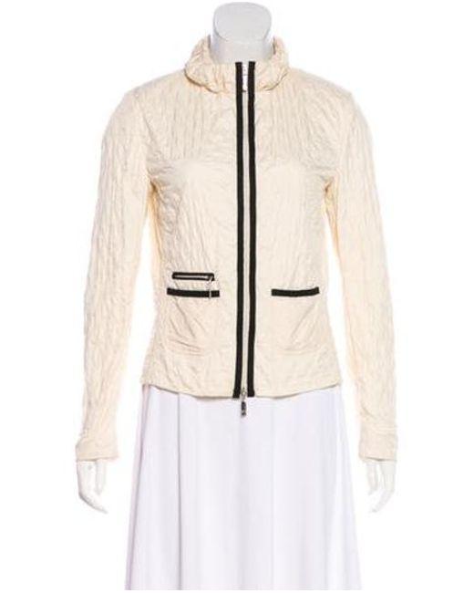 Moncler - Natural Viviane Quilted Jacket Black - Lyst