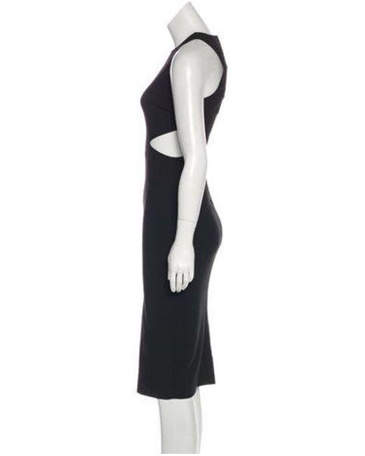 294c680ad901e ... Elizabeth and James - Black Colorblock Midi Dress W/ Tags - Lyst ...