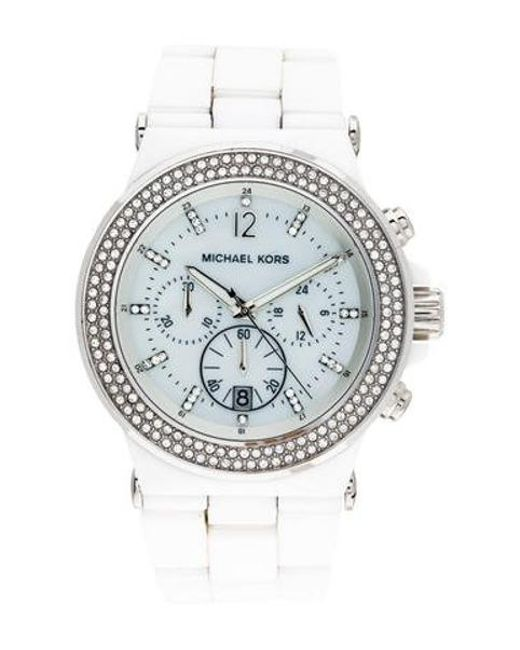 e8cdbf561 Michael Kors - Metallic Glitz Dylan Watch - Lyst ...
