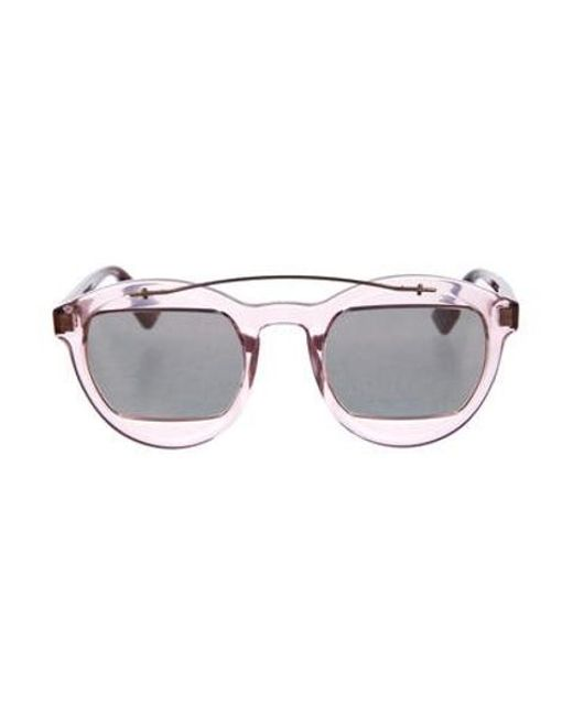 69e12a6842d Dior - Metallic Diormania1 Mirror Sunglasses - Lyst ...