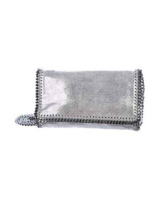d84351c6d012 Stella McCartney - Metallic Shaggy Deer Falabella Crossbody Bag - Lyst ...