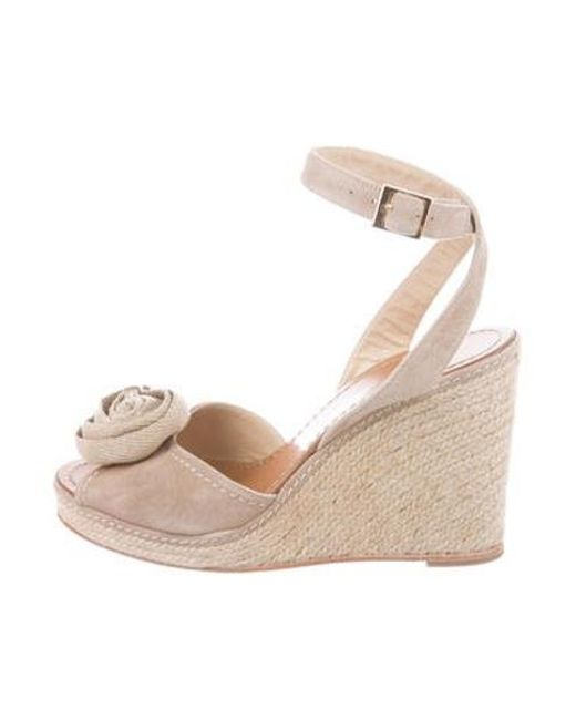 d144412b3e Kate Spade - Natural Brit Espadrille Wedges Nude - Lyst ...