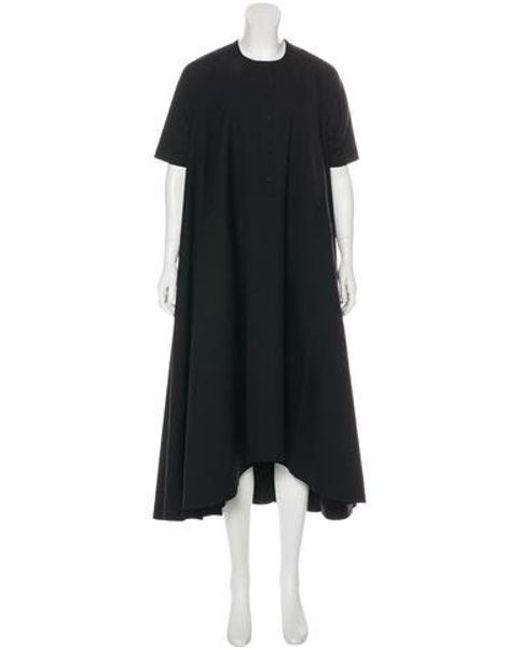 c332f799c4 Henrik Vibskov - Black Oversize Maxi Dress - Lyst ...
