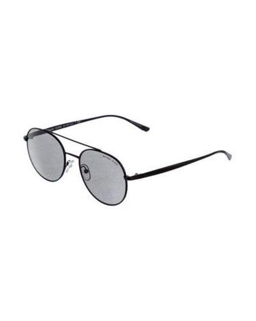 279c57c77c ... Michael Kors - Black Lon Tinted Sunglasses - Lyst ...