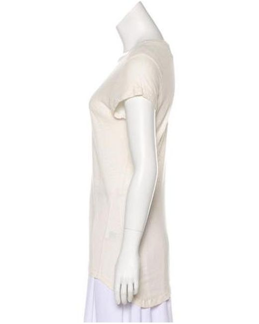 9916700ec2 ... Jenni Kayne - White Linen-blend Scoop Neck Top - Lyst ...