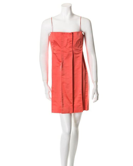 Marc Jacobs - Multicolor Dress Coral - Lyst