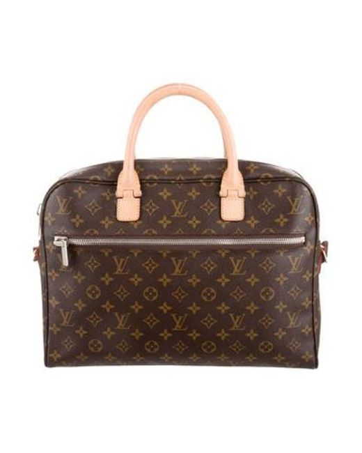 Louis Vuitton - Natural 2016 Monogram Icare Messenger Bag Brown for Men - Lyst