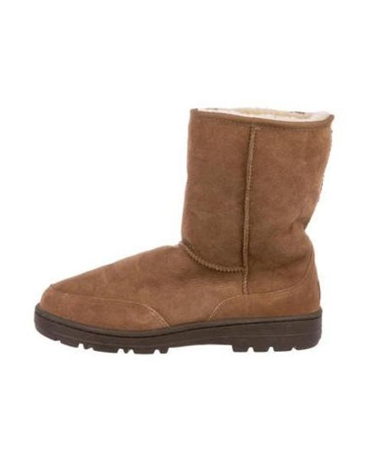Ugg - Brown Shearling Boots for Men - Lyst