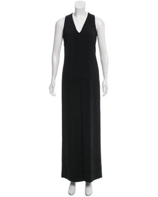 be2a48c179 Philosophy di Alberta Ferretti - Black Sleeveless V-neck Jumpsuit - Lyst ...