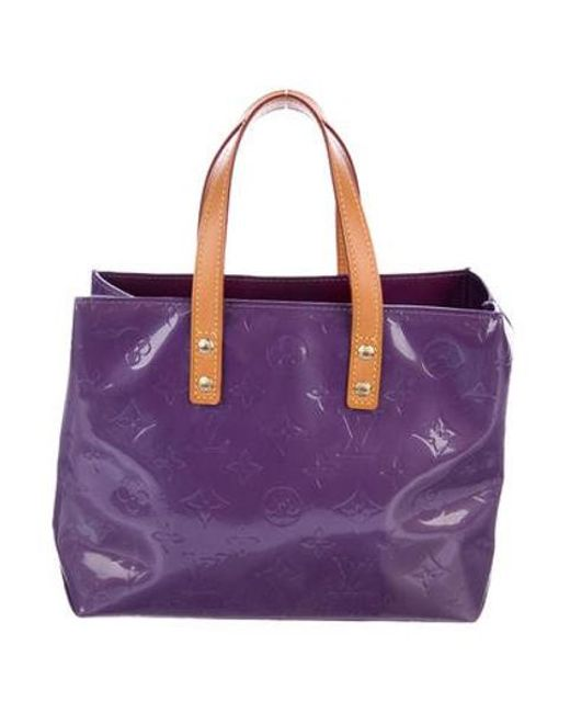 5565803326f Louis Vuitton - Natural Vernis Reade Pm Purple - Lyst ...