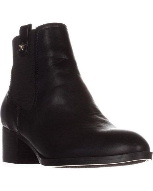 Tommy Hilfiger - Black Roxys Ankle Boots - Lyst