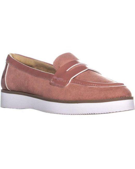 38af5013d3d Naturalizer - Pink Zoren Flat Loafer - Lyst ...