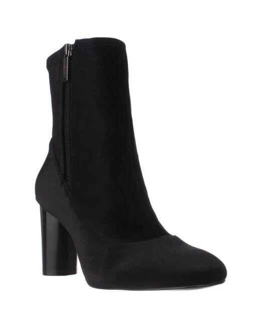 Nine West | Black Valetta Tall Ankle Booties | Lyst