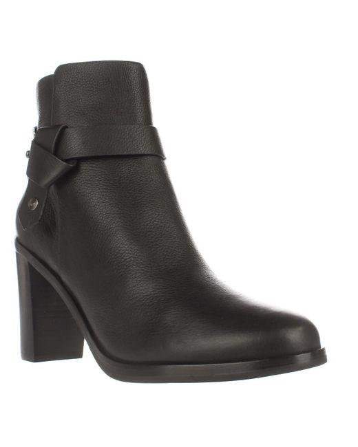 Via Spiga | Farrah Harness Ankle Boots - Black | Lyst
