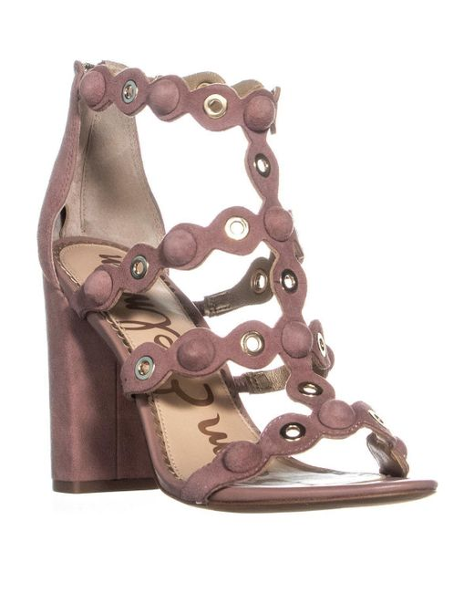 552c96b8e15 Sam Edelman Sandals in Pink - Save 76% - Lyst
