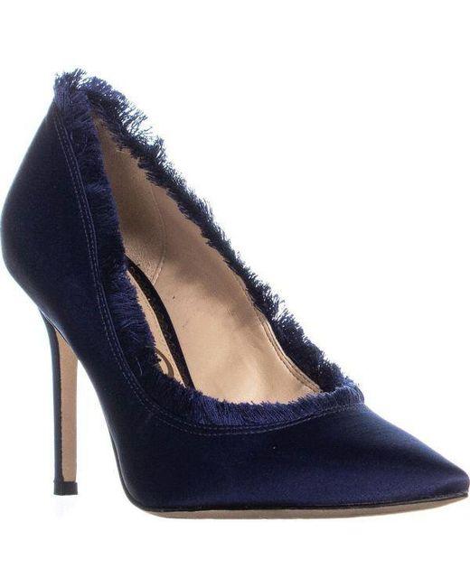 fe886052d Sam Edelman - Blue Halan Pointed Toe Pumps - Lyst ...