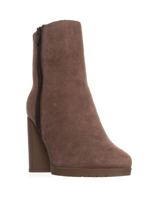 Tahari - Brown Elie Geneva Ankle Boots - Lyst