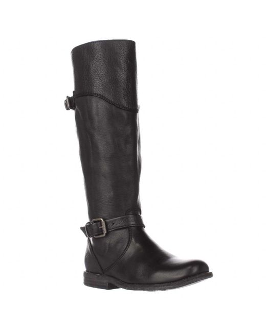 Frye | Phillip Riding Wide Calf Boots - Black | Lyst