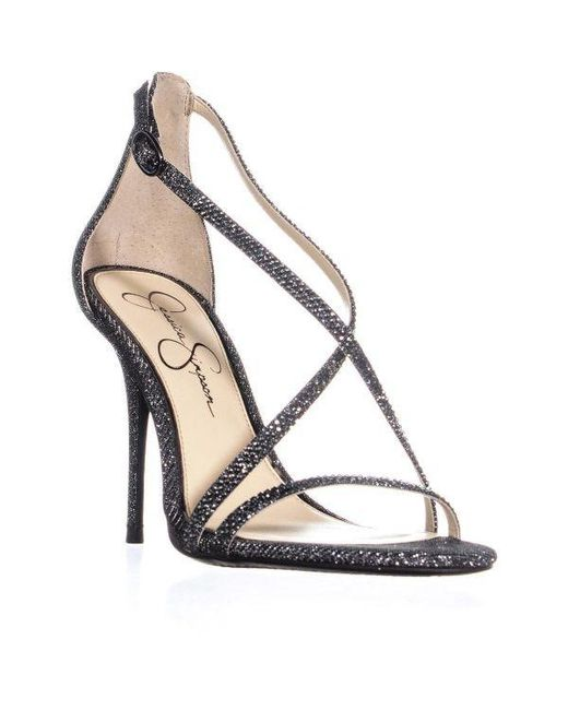 d223bddead8 Jessica Simpson - Multicolor Annalesse Strappy Sandals - Lyst ...