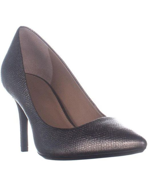 2e8940796f Calvin Klein - Metallic Gayle Classic Pump Heels - Lyst ...