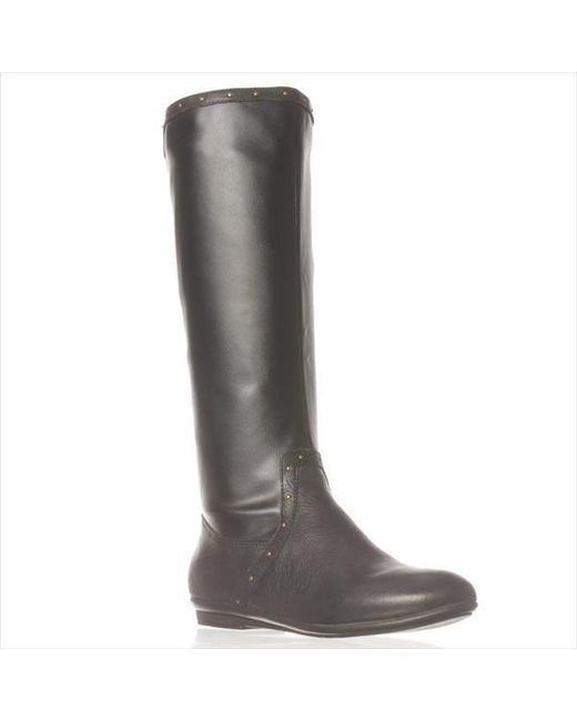 Easy Spirit | Black Kandis Riding Boots | Lyst