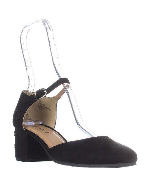 Esprit - Black Ellen Ankle-strap Heels - Lyst