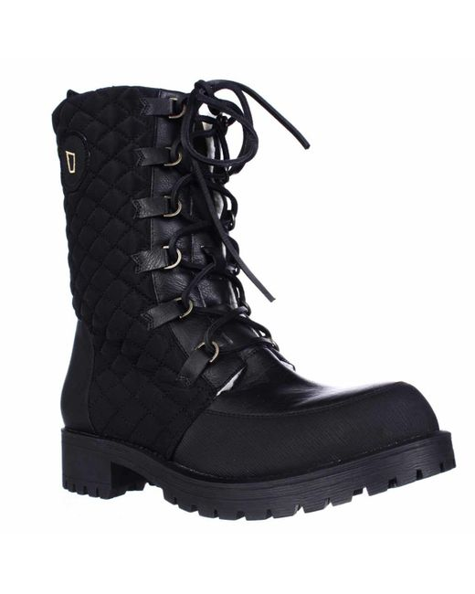 Matt Bernson | Black Ketchum Quilted Lace Up Shearling Lined Boots | Lyst