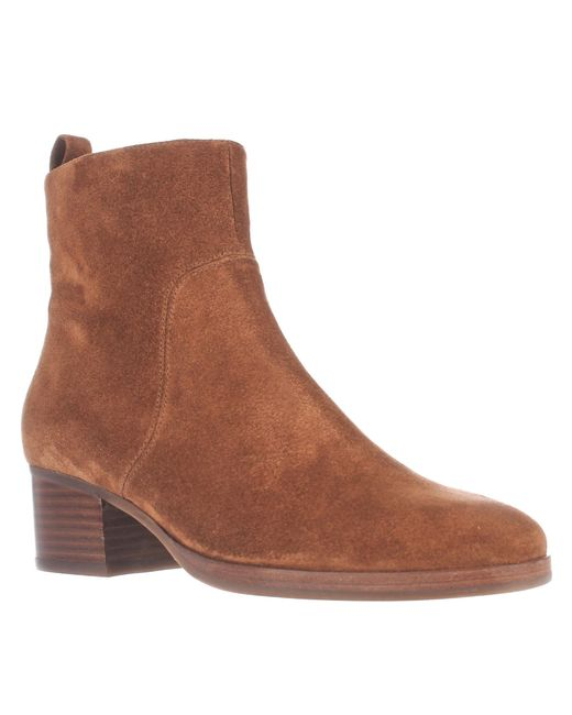 Via Spiga | Brown Ottavia Ankle Boots - Luggage | Lyst