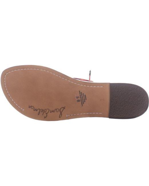 f1646daafb2f ... Sam Edelman - Orange Gemma Flat Gladiator Lace Up Sandals - Lyst