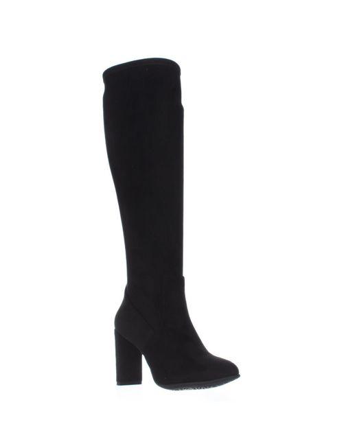 Nine West | Black Kellan Knee-high Boots | Lyst