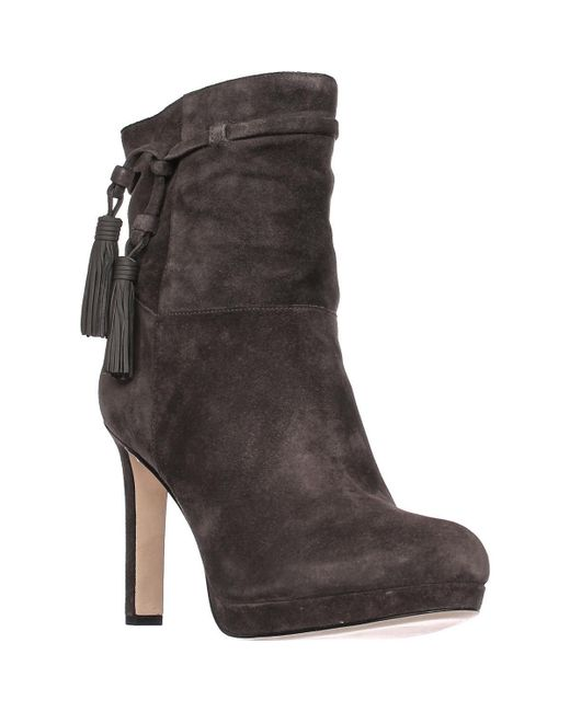 Via Spiga | Multicolor Bristol Pull On Tassel Ankle Boots | Lyst