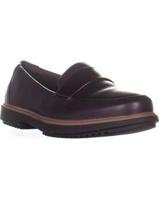 f54e3dab3dc Clarks - Multicolor Raisie Arlie Slip On Loafers - Lyst ...