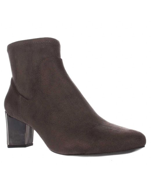Nine West | Gray Falup Ankle Booties | Lyst