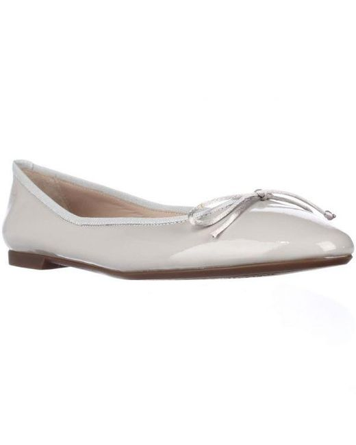 Sweet Ballerina - Gray Lera Bow Ballet Flats - Grey - Lyst
