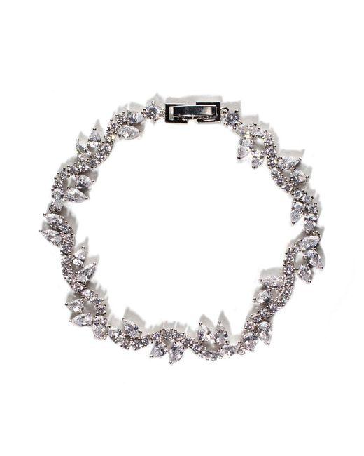 Fallon - Metallic Vine Bracelet - Lyst