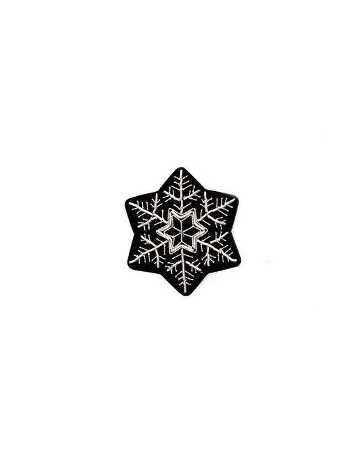 Macon & Lesquoy - White Snowflake Pin - Lyst