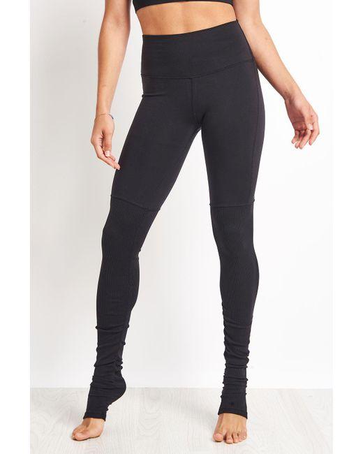 Alo Yoga Black High-waist Goddess Legging