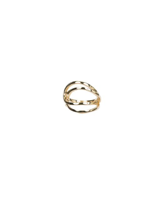 Repossi - Metallic La Ligne C Double-hoop Ring - Lyst