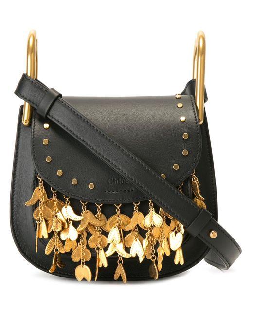 Chloé | Multicolor Mini 'hudson' Fringed Shoulder Bag | Lyst