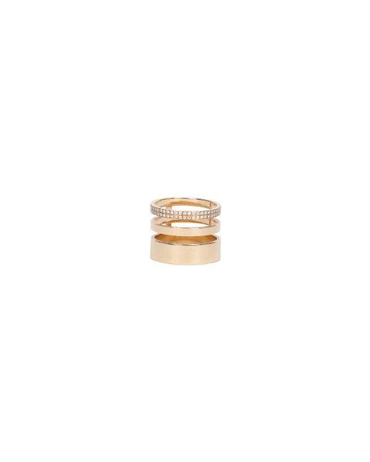 Repossi - Metallic Gold Ring 3 Rows - Lyst