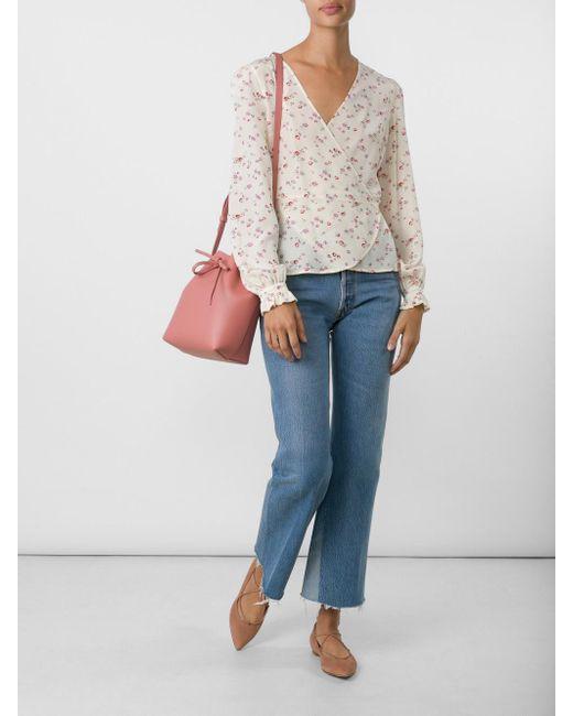 Mansur Gavriel | Pink Mini Bucket Bag | Lyst