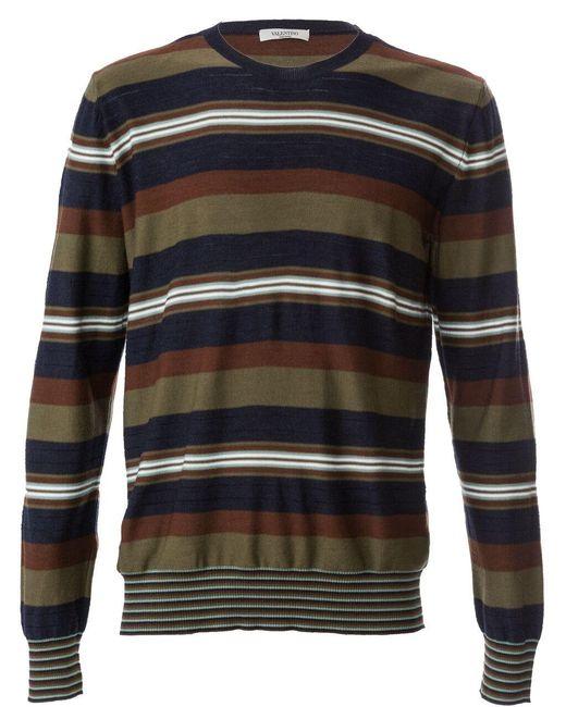 Valentino | Multicolor Maglia Girocollo Sweater for Men | Lyst