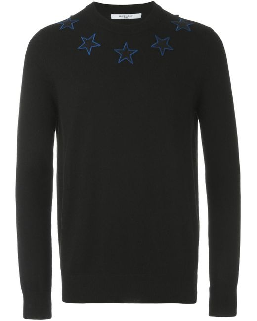 Givenchy | Multicolor Star Embroidered Jumper for Men | Lyst