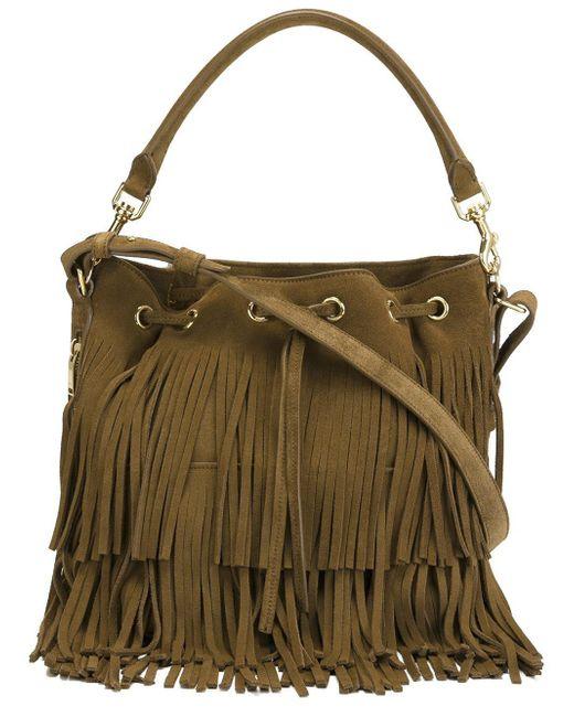 Saint Laurent   Multicolor Medium 'emmanuelle' Bucket Bag   Lyst