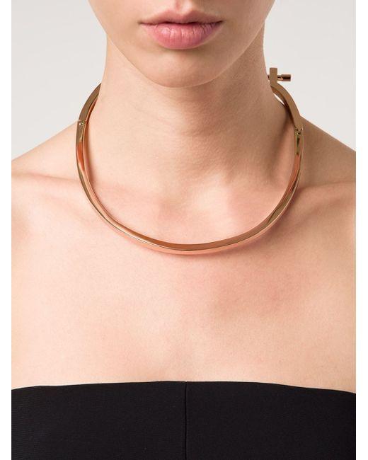 Miansai | Metallic Modern Screw Necklace | Lyst