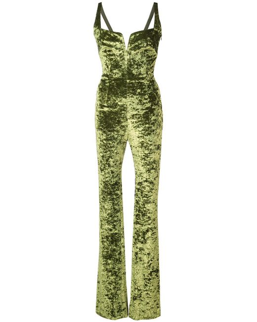 Galvan - Green Solstice Jumpsuit - Lyst
